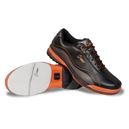 Picture of Men's Hammer Force Black/Carbon/Orange Shoe (Left Handed)