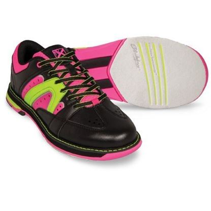 Picture of KR Women's Quest Black/Pink/Yellow