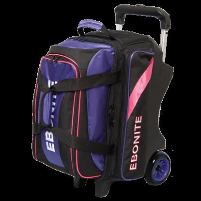 Picture of Ebonite Equinox Premium 2-Ball Roller Purple/Pink